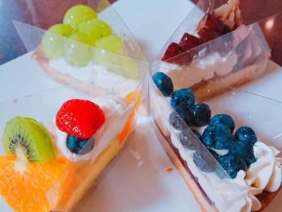 【閉店】フルーツどっさりタルトケーキ【シェリーブラン イオンモール千葉ニュータウン店】