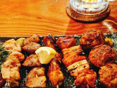 しっとり飲めて、霧島鶏が美味い【炭火串焼シロマル 千葉ニュータウン店】